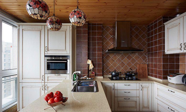 老房美式风格厨房厨具