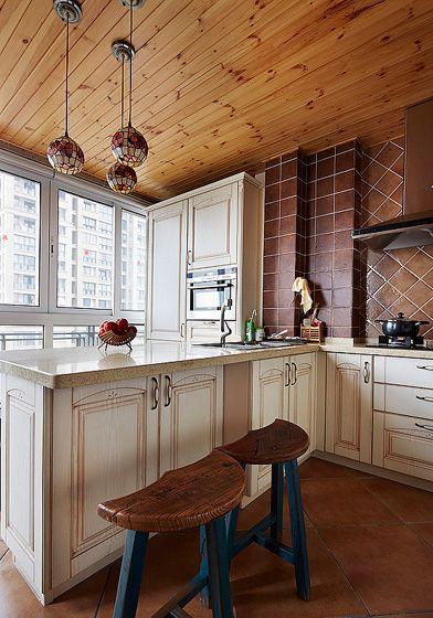 老房美式风格厨房