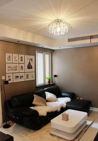 时尚风格婚房沙发背景墙