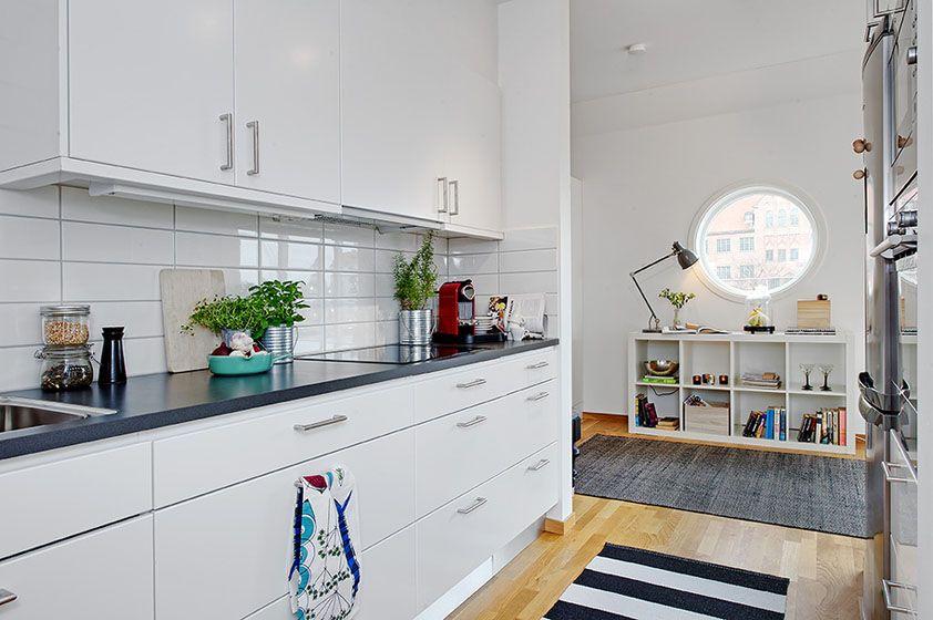 白色北欧厨房装修效果图