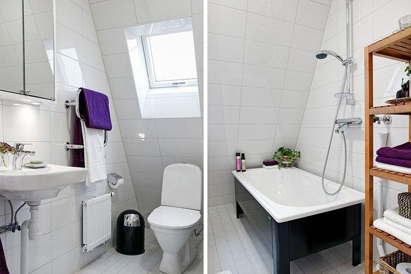 简洁的北欧卫生间装修效果图