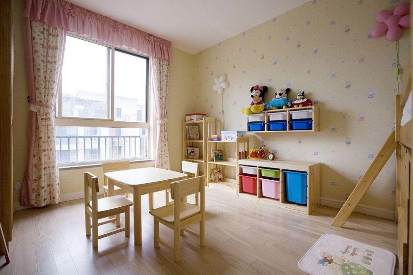 儿童实木家具装修效果图