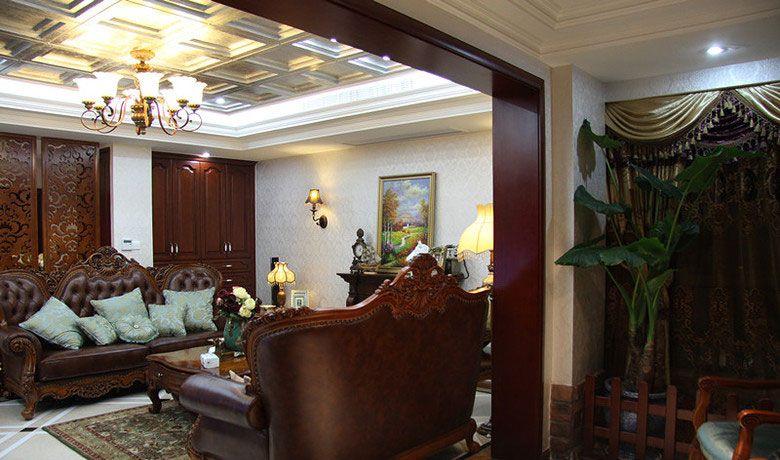 古典客厅沙发装修效果图
