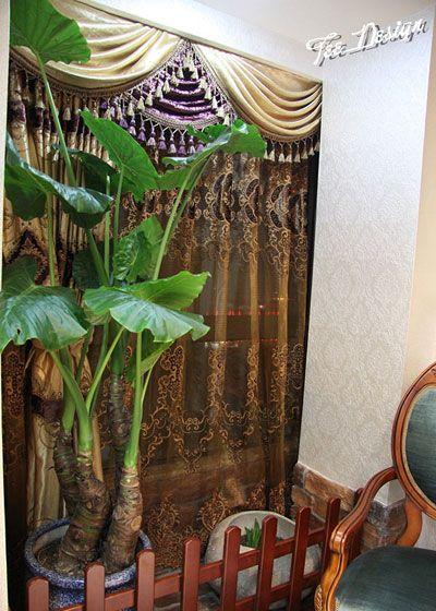 室内绿植装修效果图