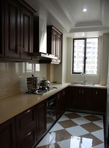 古典厨房装修效果图