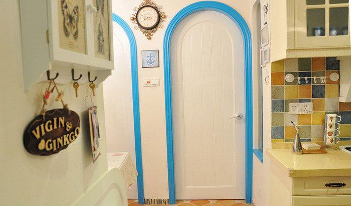 地中海房门装修效果图