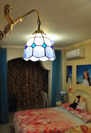 卧室复古灯具装修效果图