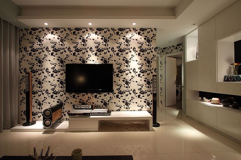 新风模范时尚墙装修效果图讲道德学背景树电视观后感图片