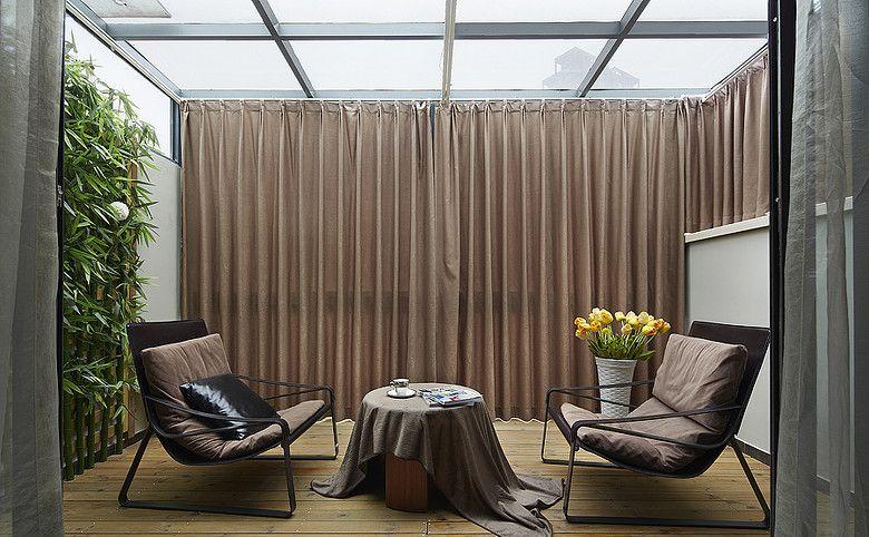 露台的阳光房装修效果图