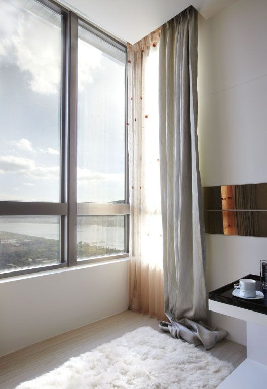 客厅温馨飘窗装修效果图