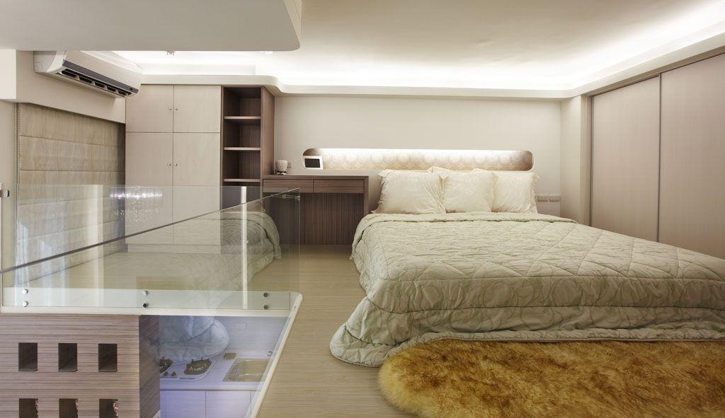 简约卧室风格装修效果图