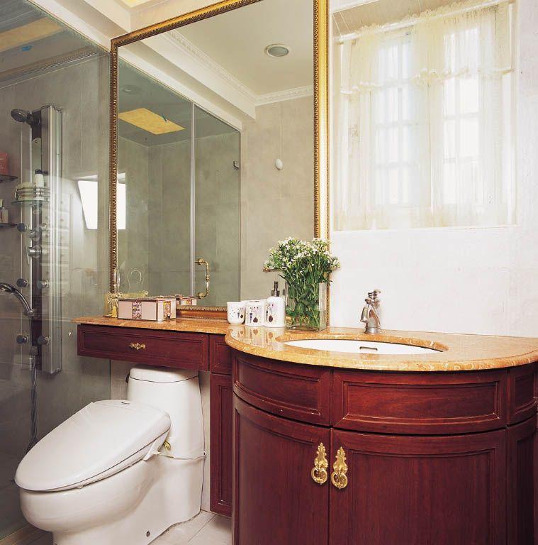 新古典卫生间装修效果图