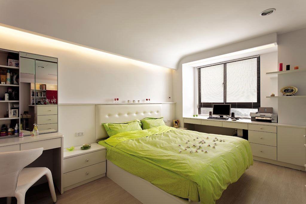 北欧风主卧房装修效果图图片