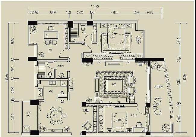 新华苑三房两厅