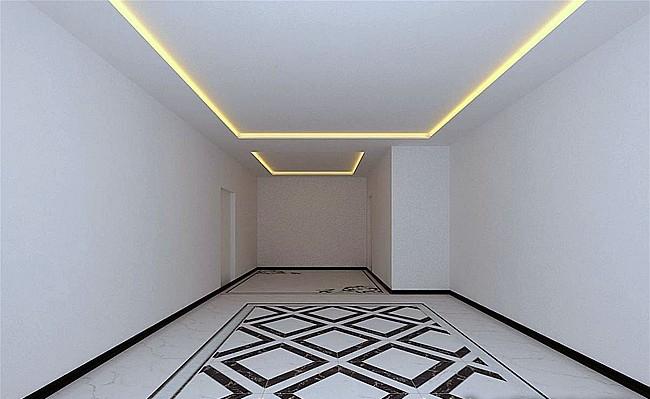 客厅地面装修效果图-x团装修网