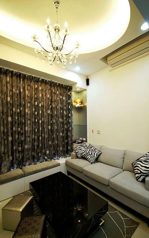 客厅布艺沙发装修效果图