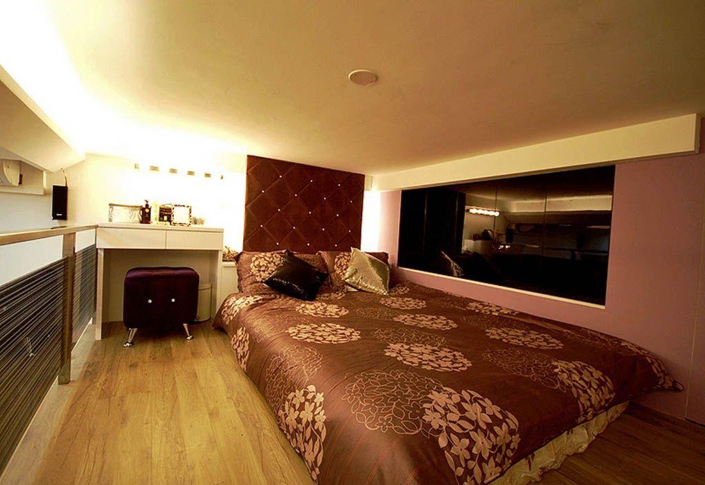 隔层卧室装修效果图