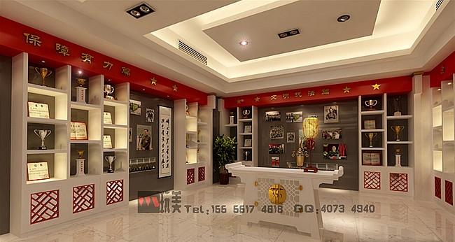 安徽省消防总队荣誉室方案