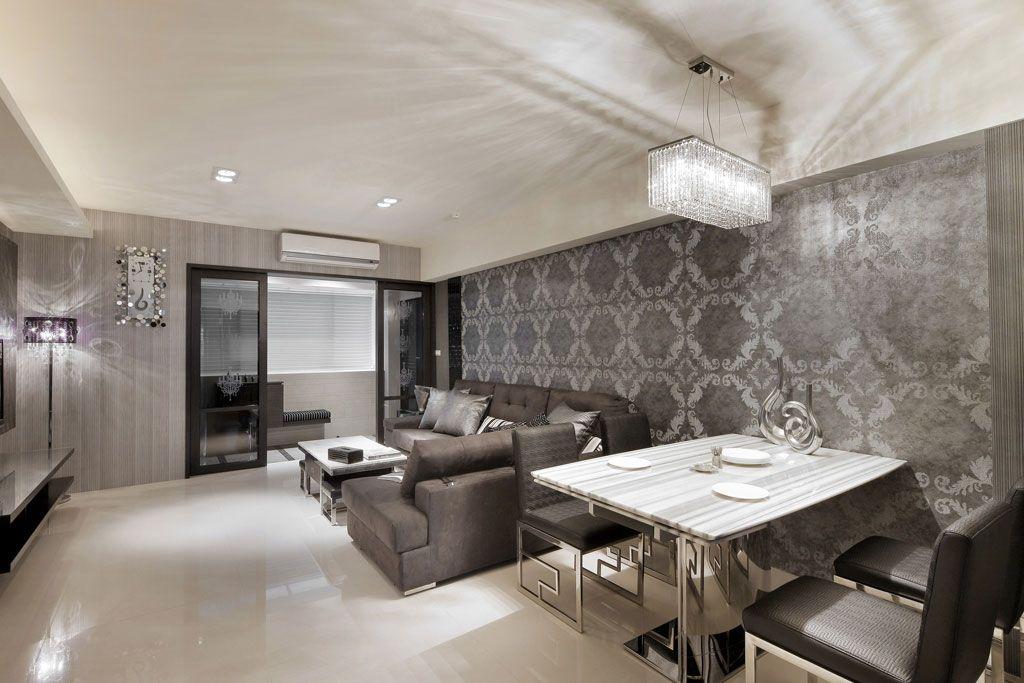 客厅餐厅空间装修效果图