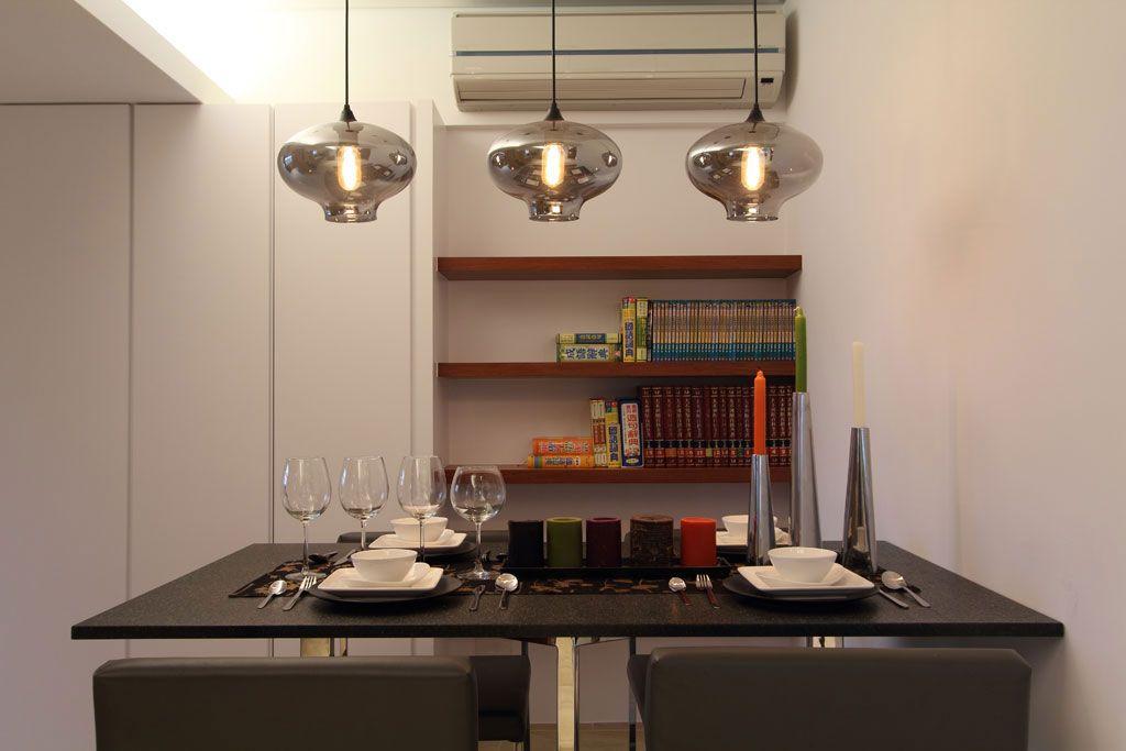 舒适现代风餐厅装修效果图