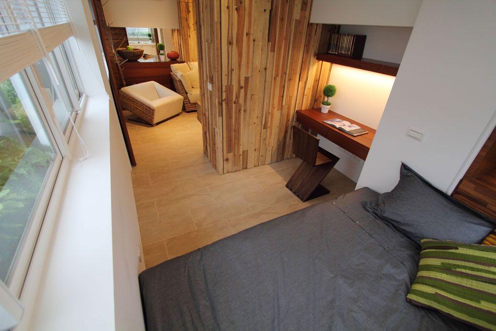 舒适自然的小卧房装修效果图