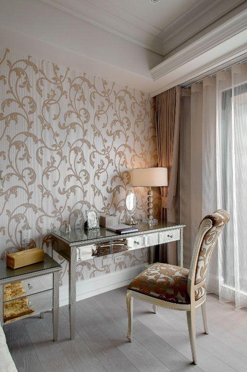 古典卧室书桌装修效果图