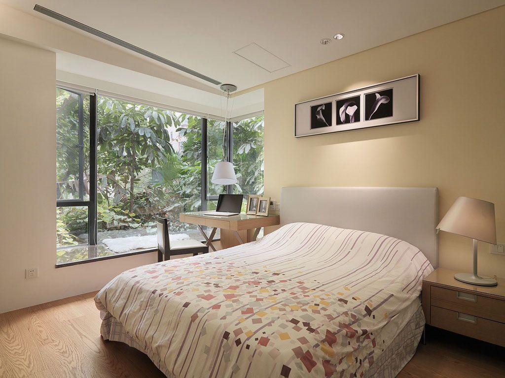 淡雅自然的小卧室装修效果图