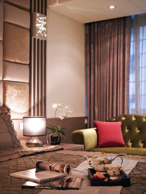 臥室的休閑空間裝修效果圖