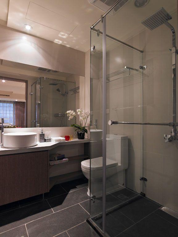 衛生間衛浴空間裝修效果圖