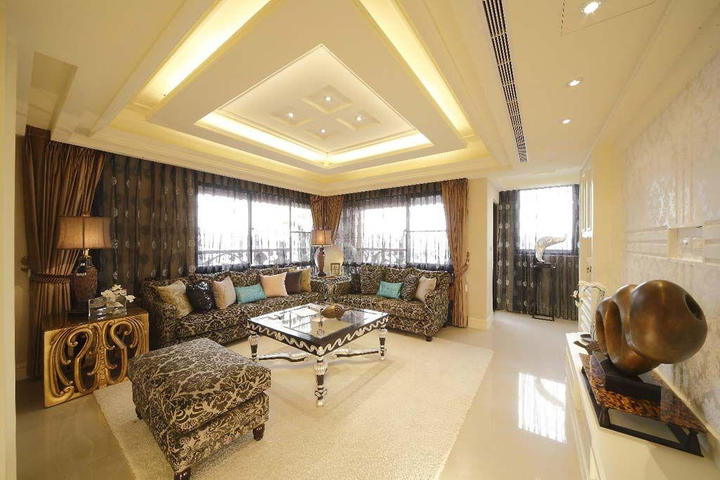 花般客厅沙发装修效果图