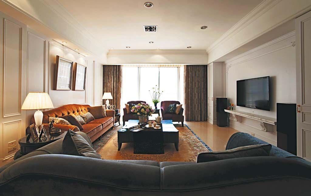 细腻的家居装饰装修效果图