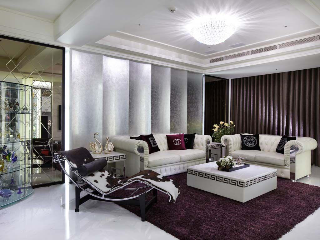 轻古典时尚客厅装修效果图