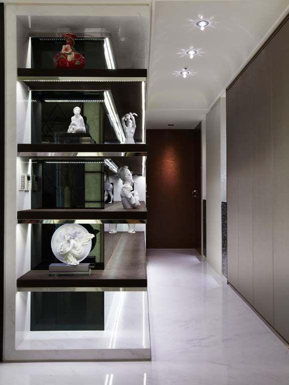 艺术品展示柜装修效果图