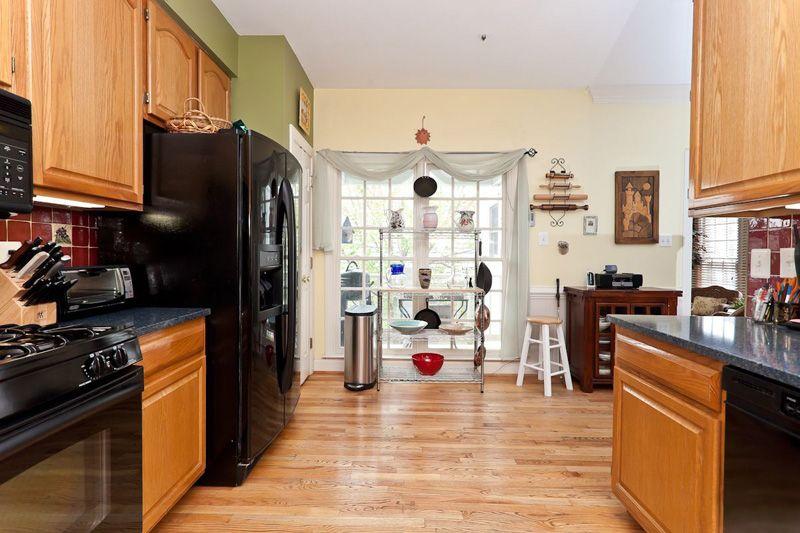 厨房双开门冰箱装修效果图