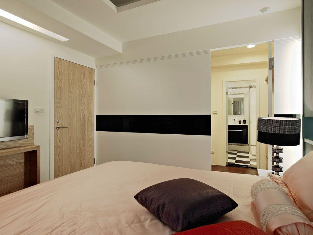 自然宁静的卧房装修效果图