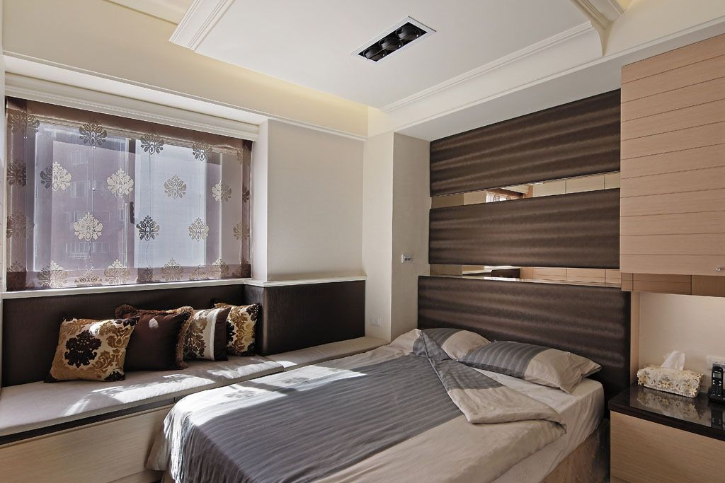 交换空间卧室背景墙