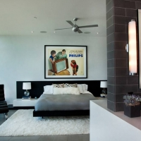 40平都市风格小卧室装修效果图