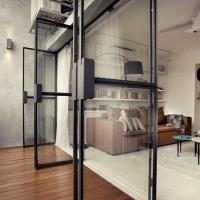 单身公寓工业风装修效果图