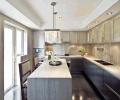 敞亮厨房 后现代装潢装修效果图