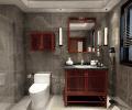 新中式卫浴空间装修效果图