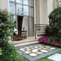 小花园 庭院入口设计装修效果图