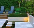 享受阳光 庭院景观设计装修效果图
