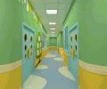 早教中心走廊装修效果图