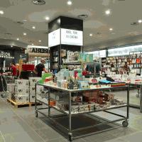 歐美風格書店展示裝修效果圖