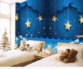 儿童房星空背景墙装修效果图